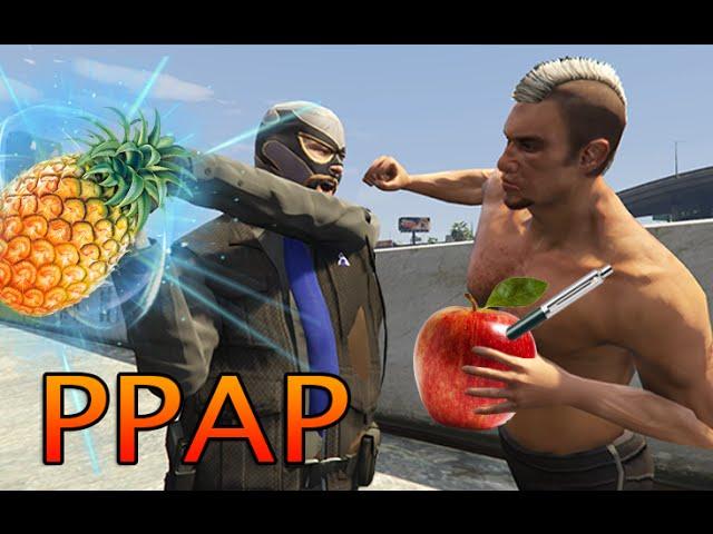 GTA 5 [PPAP] Pen-Pineapple-Apple-Pen (洗腦神曲暴力版PPAP)