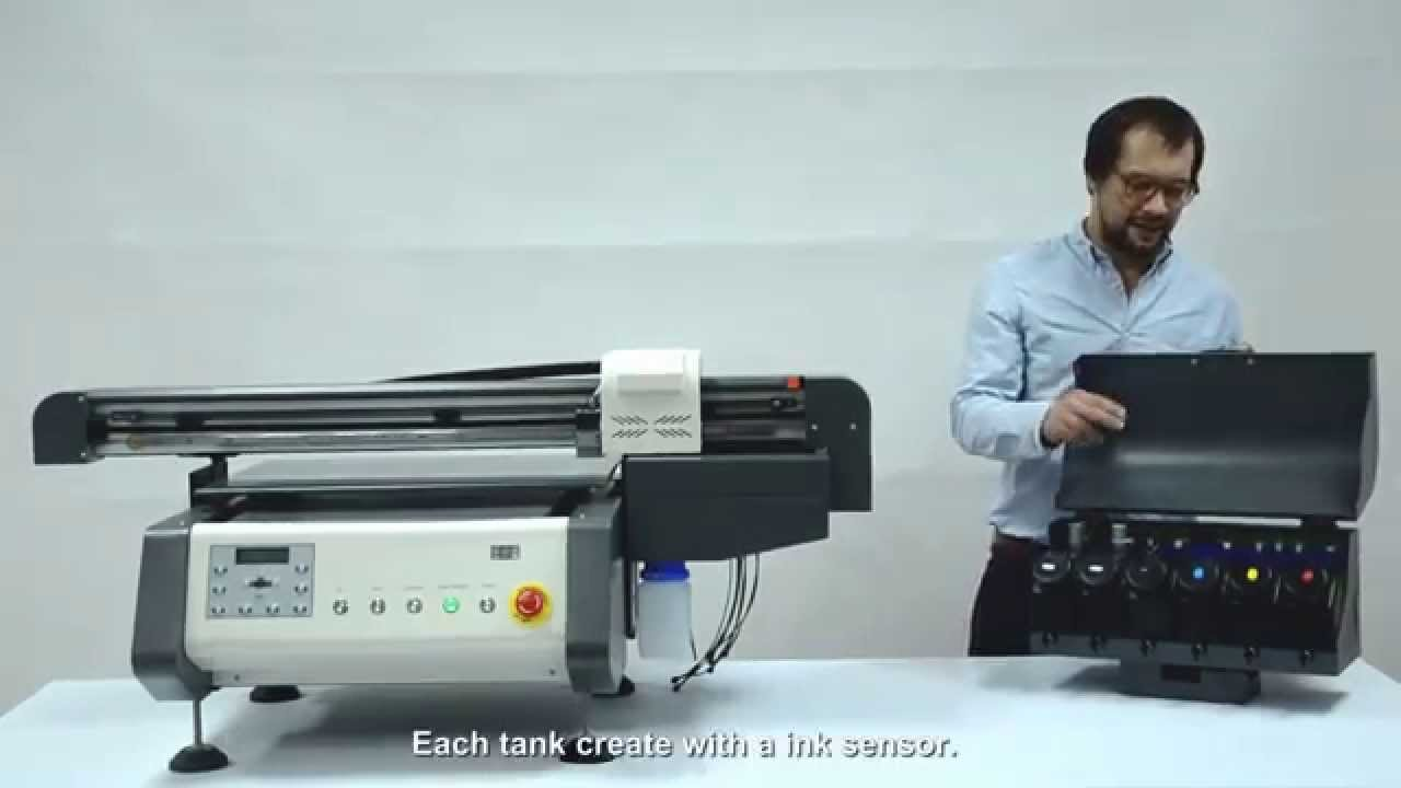 How to Operate Flatbed Digital UV Printer - APEX UV4060 - YouTube 0915813d00