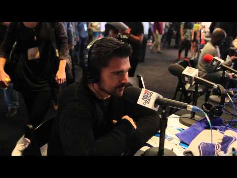 Juanes Backstage At The Grammys