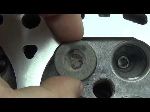 Теория ДВС Ремонт ГБЦ Nissan 1.4