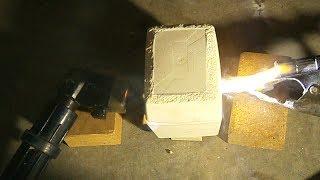 Homemade Miniature Carbon Arc Furnace - Prototype