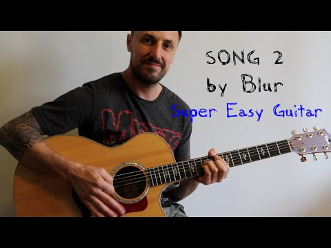 EASY GUITAR LESSON | SONG 2 BY BLUR