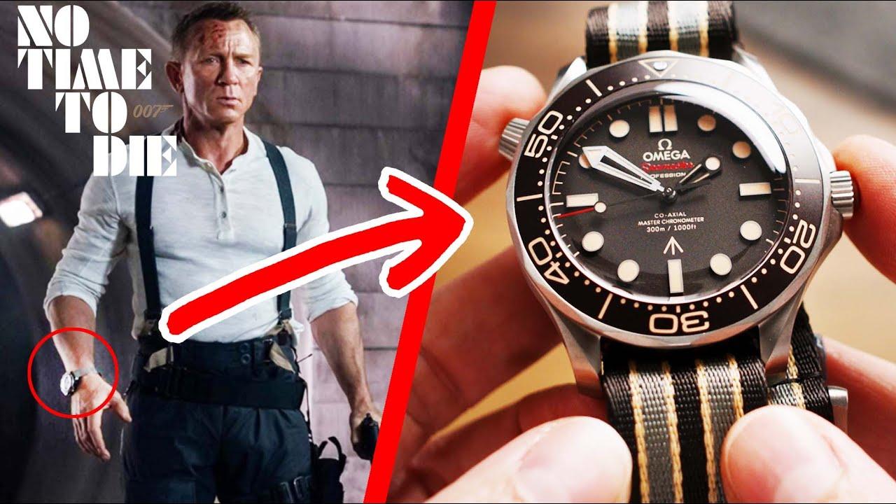 I've got James Bond's watch here :)