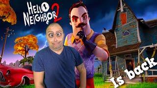 Hello Neighbor 2 Ending Alpha 1! He is BACK