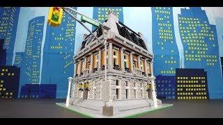 DR. STRANGE LEGO SANCTUM MOC MARVEL COMICS
