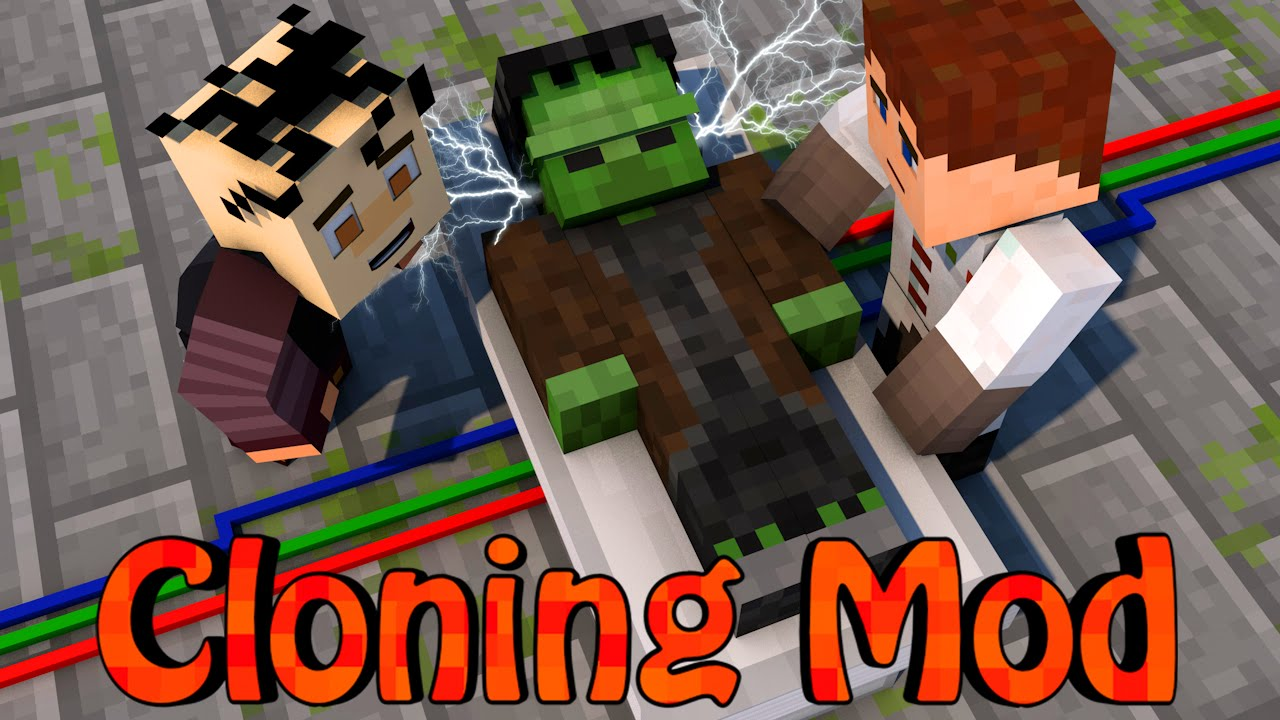 how to make a cloning machine in minecraft no mods