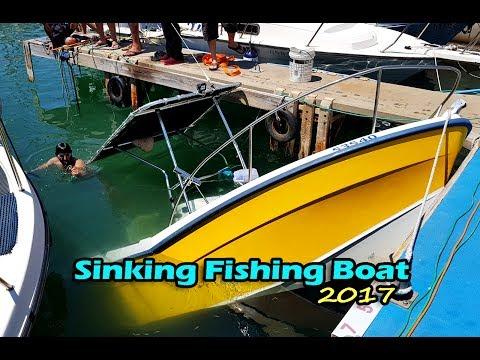 Boat Sinking | Fishing Boat Sinking Operation Rescue 2017