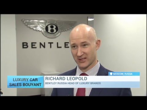 Luxury Car Sales Bouyant in Russia As Economy Slumps: New cars out of reach for ordinary Russians