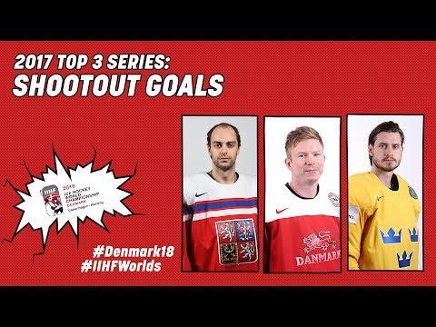 2017 Top-3 Series: Shootout Goals - #IIHFWorlds 2018 - 동영상