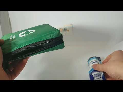 1 Person First Aid Kit Lone Worker / Travel  QF1100