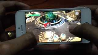 Thor : The Dark World Gameplay For Iphone 5s (IOS)
