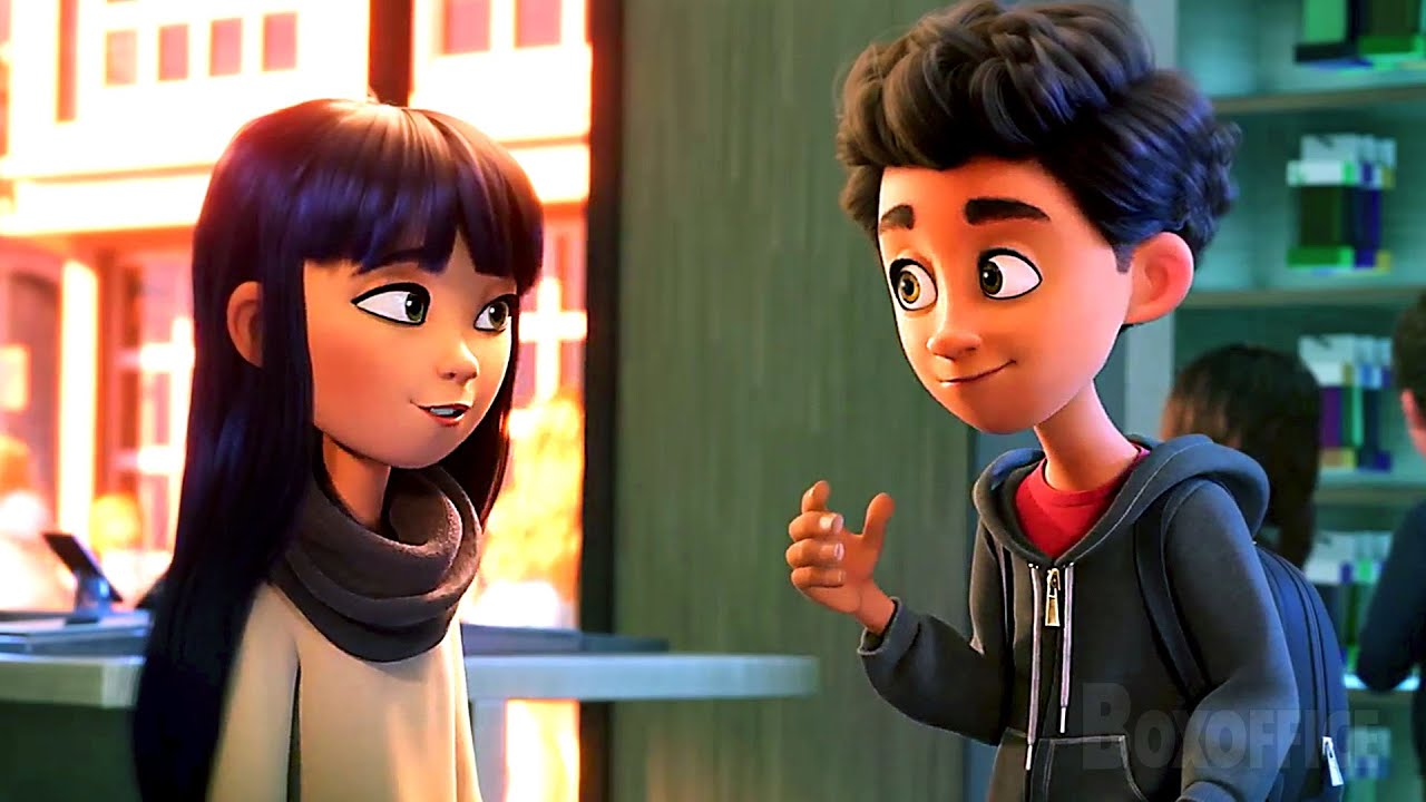 Romance y textos | Emoji: La película | Clip en Español
