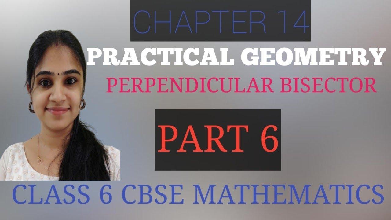 CHAPTER 14  PRACTICAL GEOMETRY  PART 6  CLASS 6  CBSE MATHEMATICS  Exercise 14.5