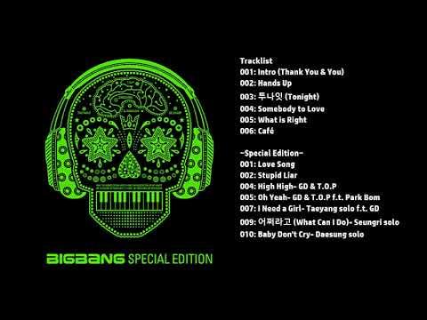 [Full Album] 빅뱅 (Big Bang)- Tonight Album