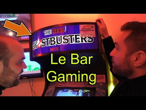 Le RESET - Le nouveau Bar Gaming à Paris - Retrogaming / Next gen