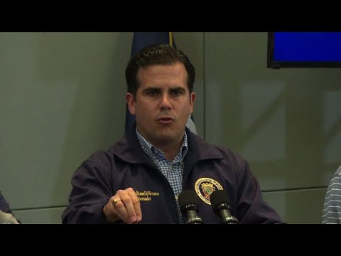 Puerto Rico governor warns of 'mass exodus' post Hurricane Maria
