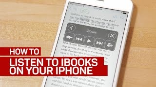 Listen to iBooks read by your iPhone