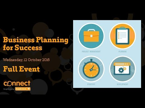Small Business Business Planning For Success Full Event Youtube
