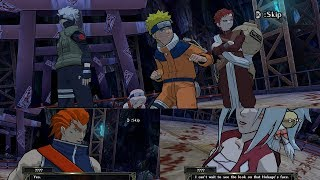 Naruto Clash of Ninja Revolution 2 Walkthrough Part 4 - Naruto Gaara vs Rogue Ninjas 1080p 60 FPS
