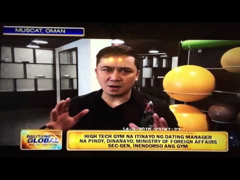 Pinoy Sports enthusiast opened a High Tech Gym in Oman