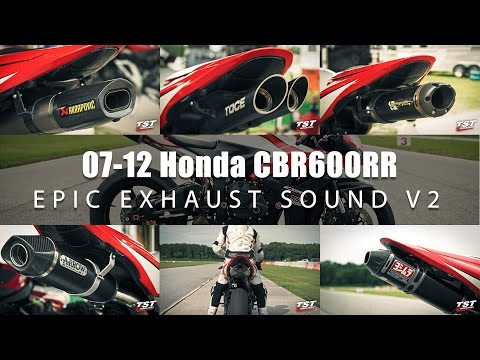 Epic Exhaust Sound Honda CBR600RR : Toce, Akrapovic, Arrow, Two Brothers, Yoshimura, Honda OEM