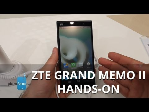 ZTE Grand Memo II hands-on