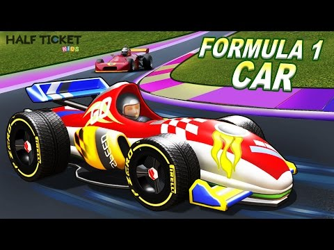 Sports Cars for Kids | Racing Cars | Formula 1| Cars for kids