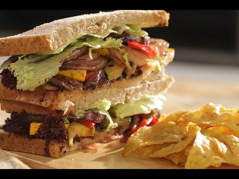 Grilled Veggie Sandwich | Chef Sanjeev Kapoor