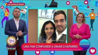 Fan confunde a Omar Chaparro c…