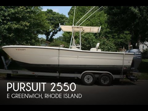 [SOLD] Used 1987 Pursuit 2550 in E Greenwich, Rhode Island