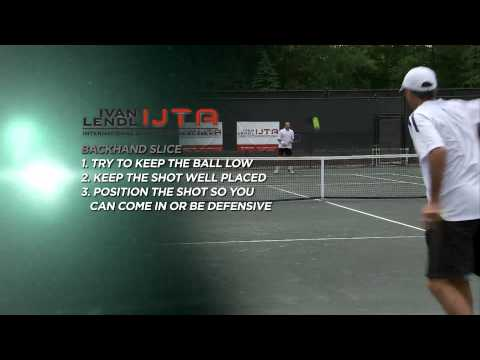 The Backhand Vers. 2: tips from Ivan Lendl & David Lewis of Ivan Lendl IJTA