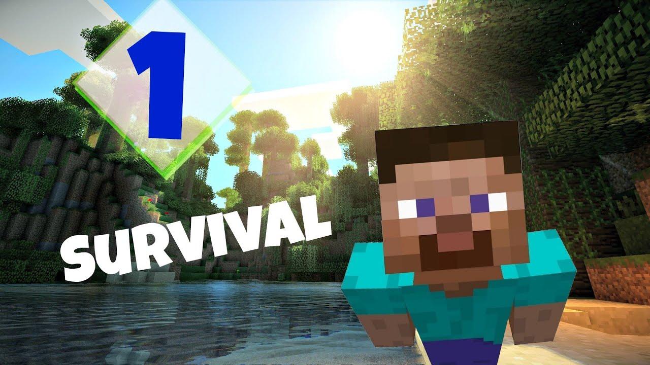 Minecraft Prezivljavanje E01 Obsidian Zec YouTube