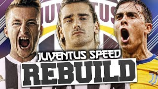 REBUILDING JUVENTUS vs ChesnoidGaming (Speed Rebuild) - FIFA 18 Career Mode