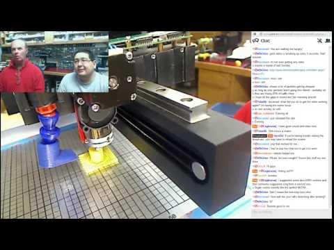 60th Live Broadcast 1/3 - HYREL 3D printer