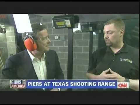 Piers Morgan at the gun Range.02-04-2012