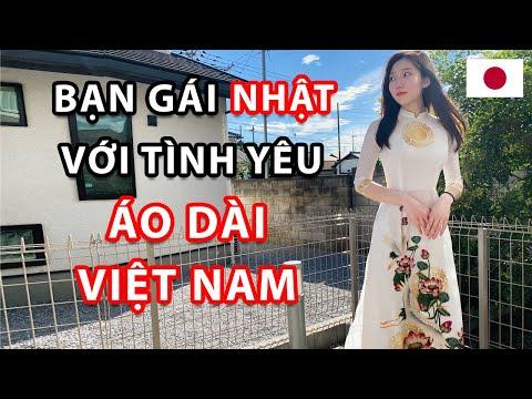 Lần đầu Mặc Áo Dài Của Bạn Gái Nhật | Cặp Đôi Việt - Nhật