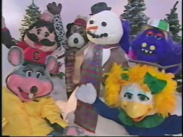 Chuck E. Cheese's Holiday TV