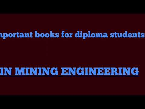 Important Books For Diploma Students // Mining Engineering