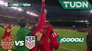 ¡Golazo 'mexicano'! Cavallini selló el triunfo | Canadá 2 - 0 USA | Concacaf NATIONS LEAGUE | TUDN Video