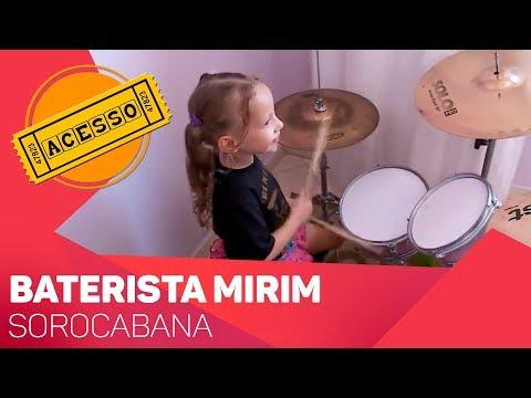 Baterista mirim sorocabana - TV SOROCABA/SBT