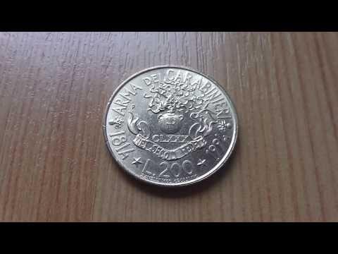 Italian Lira coin - Arma Dei Carabinieri 1814 to 1994