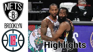 Nets vs Clippers HIGHLIGHTS Full Game | NBA February 21