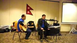 Ghumtima Cover by Rosish Shakya(Singer) and Shashwat Jnawali(Guitarist) during PKD Event