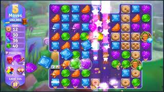 Wonka's World of Candy Level 144 - NO BOOSTERS + FULL STORY ???? | SKILLGAMING ✔️