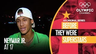 When Neymar Jr. Was Just a Teen | Before They Were Superstars