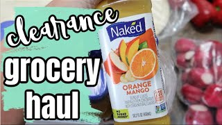 SHOP WITH ME | CLEARANCE GROCERY HAUL | FEEDING A LARGE FAMILY W/ FRUGAL FIT MOM
