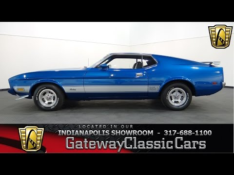 1973 Ford Mustang Mach 1 - Gateway Classic Cars Indianapolis - #579NDY