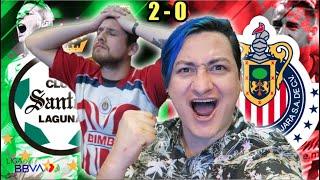 ¡SANTO BAILE! Reacciones Santos 2-0 Chivas Liga MX Guard1anes 2020