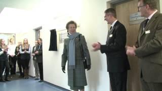 Hrh Princess Royal Opens Facilities At Harper Adams
