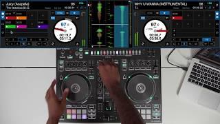 90's & 00's Hip Hop & R&B DJ Mix - Roland DJ-505 - #SundayDJSkills